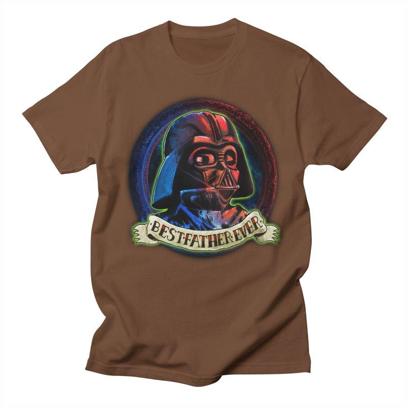 Best Father Ever Men's Regular T-Shirt by miskel's Shop