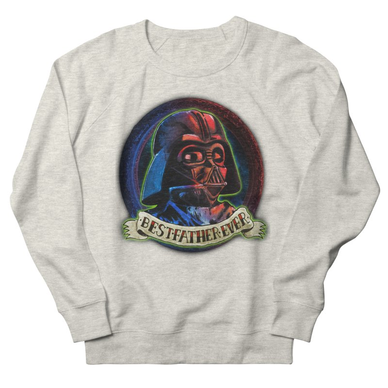 Best Father Ever Men's French Terry Sweatshirt by miskel's Shop