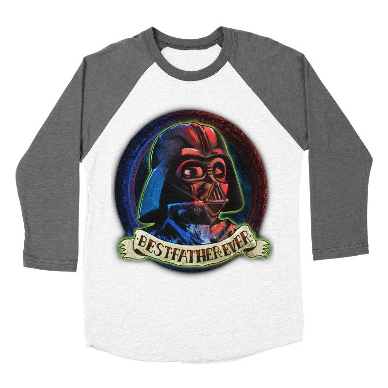 Best Father Ever Men's Baseball Triblend Longsleeve T-Shirt by miskel's Shop