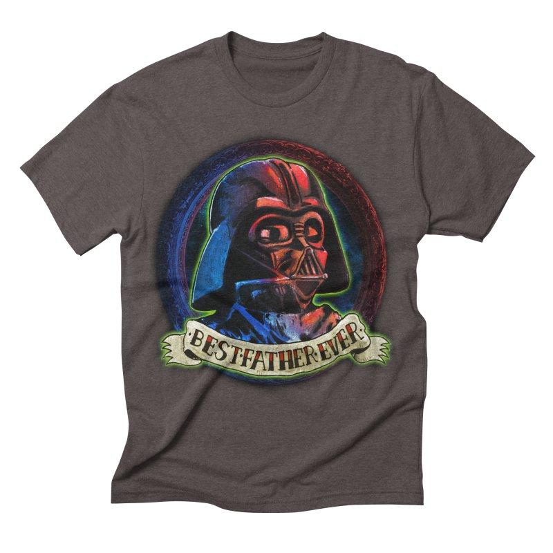 Best Father Ever Men's Triblend T-shirt by miskel's Shop
