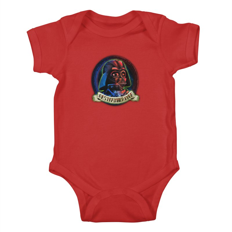 Best Father Ever Kids Baby Bodysuit by miskel's Shop