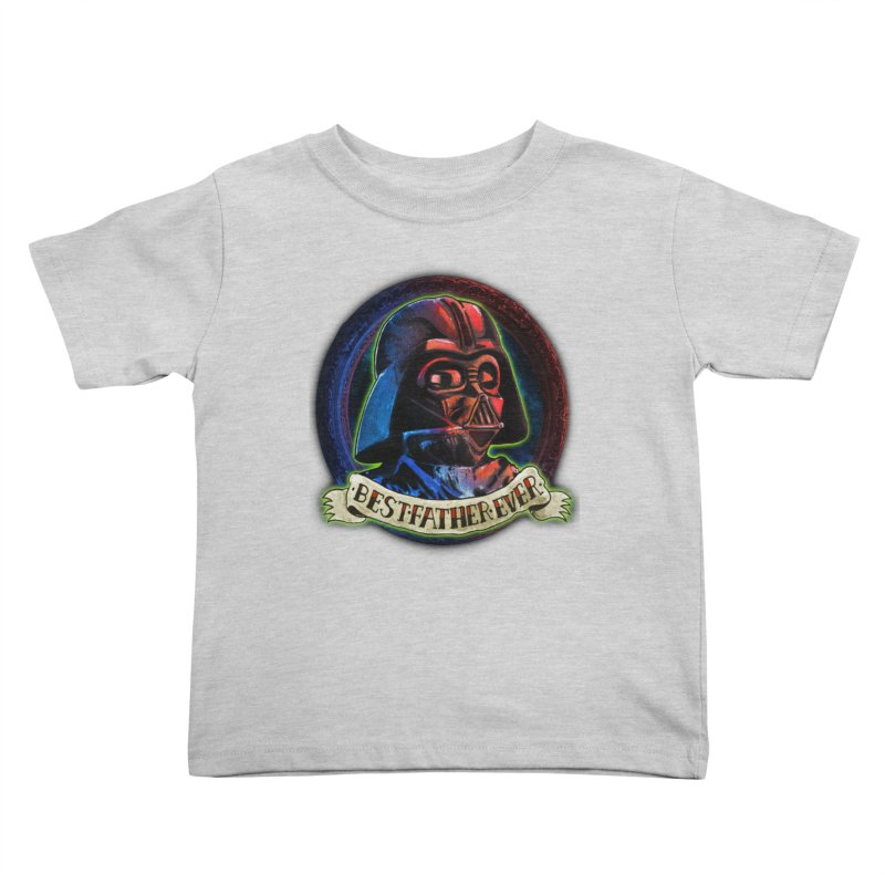 Best Father Ever Kids Toddler T-Shirt by miskel's Shop