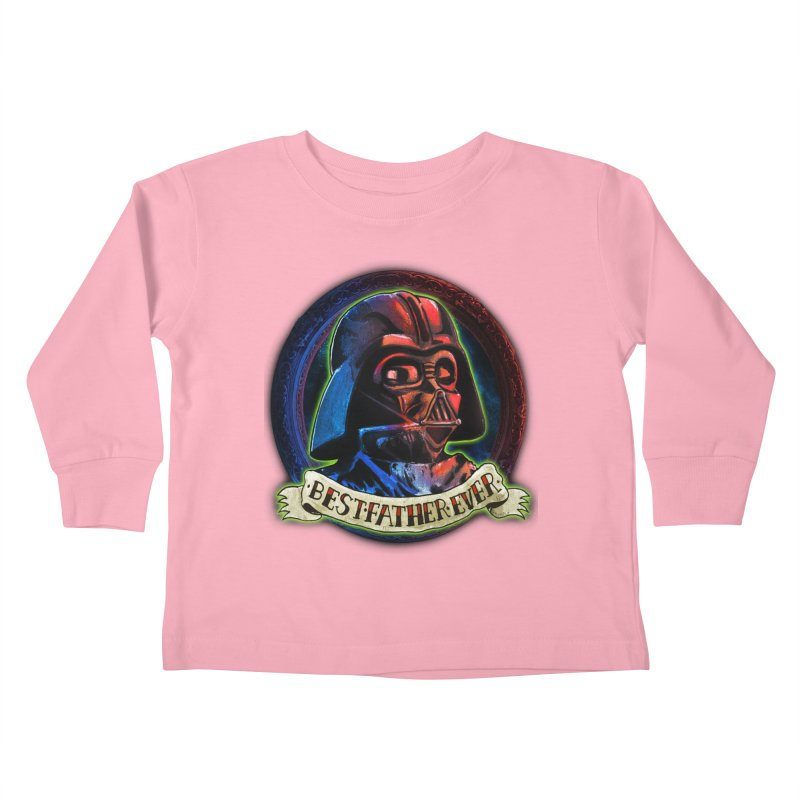Best Father Ever Kids Toddler Longsleeve T-Shirt by miskel's Shop
