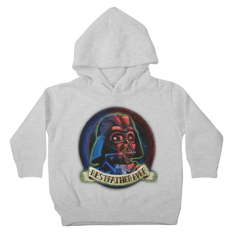 Best Father Ever Kids Toddler Pullover Hoody by miskel's Shop