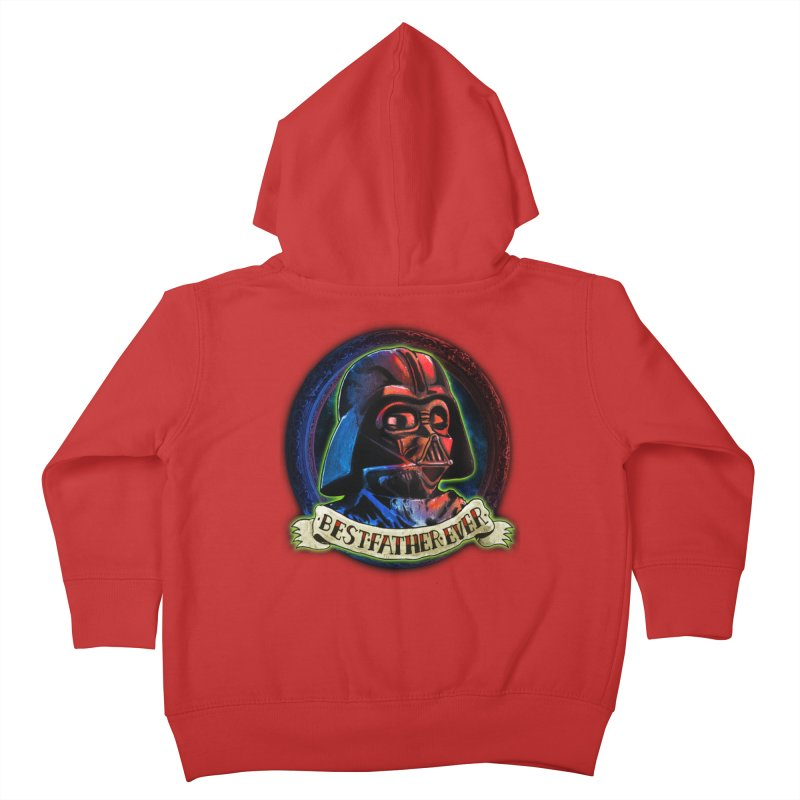Best Father Ever Kids Toddler Zip-Up Hoody by miskel's Shop