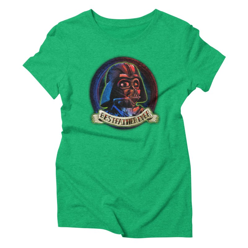 Best Father Ever Women's Triblend T-Shirt by miskel's Shop