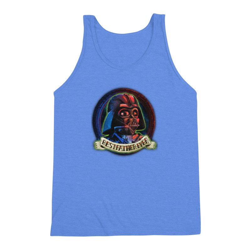 Best Father Ever Men's Triblend Tank by miskel's Shop