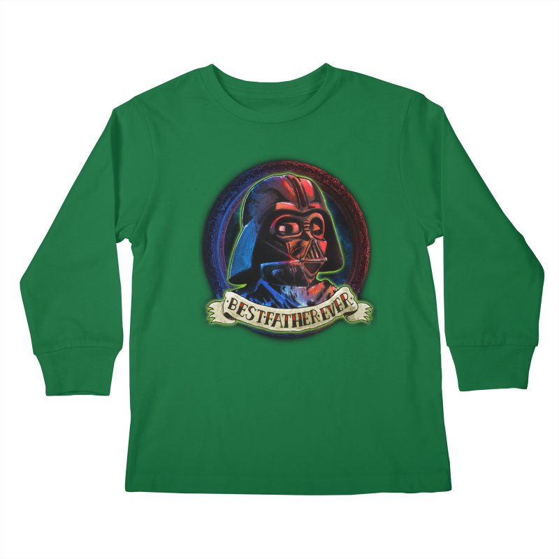 Best Father Ever Kids Longsleeve T-Shirt by miskel's Shop