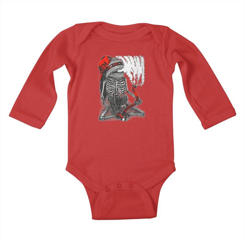 The Sbonger Kids Baby Longsleeve Bodysuit by miskel's Shop