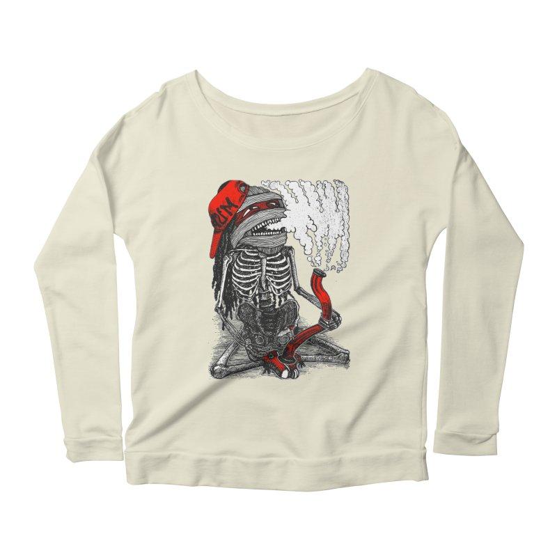 The Sbonger Women's Scoop Neck Longsleeve T-Shirt by miskel's Shop