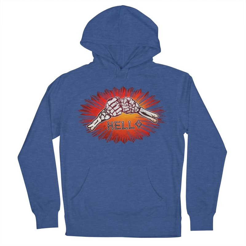 Hell O Women's French Terry Pullover Hoody by miskel's Shop