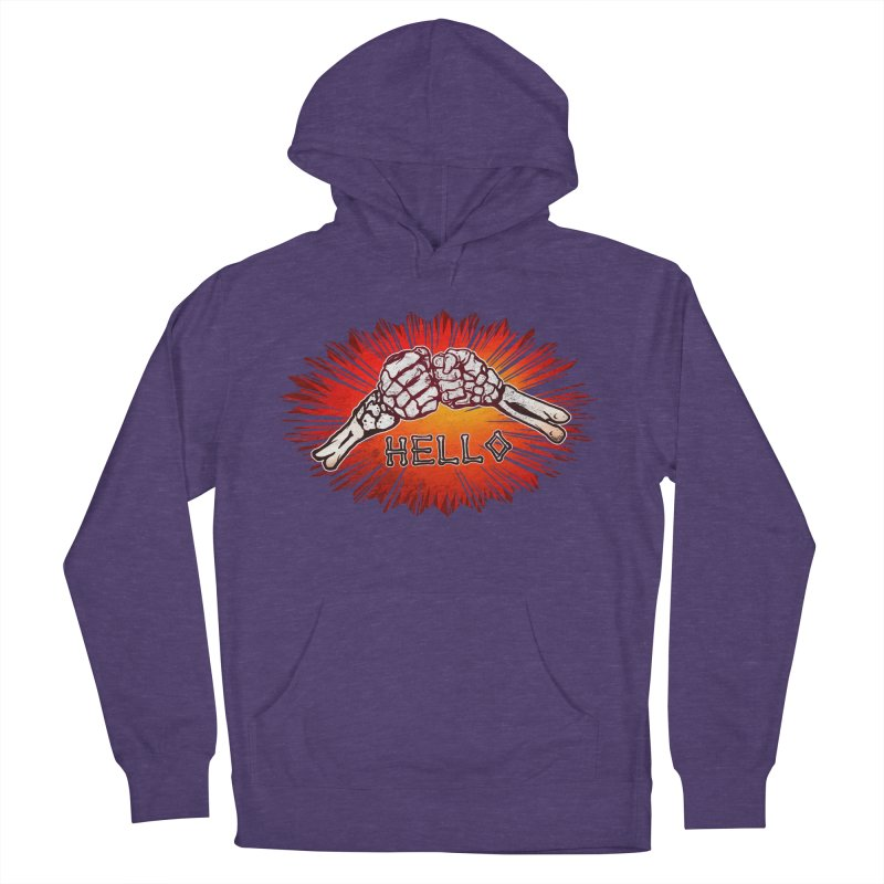 Hell O Men's Pullover Hoody by miskel's Shop