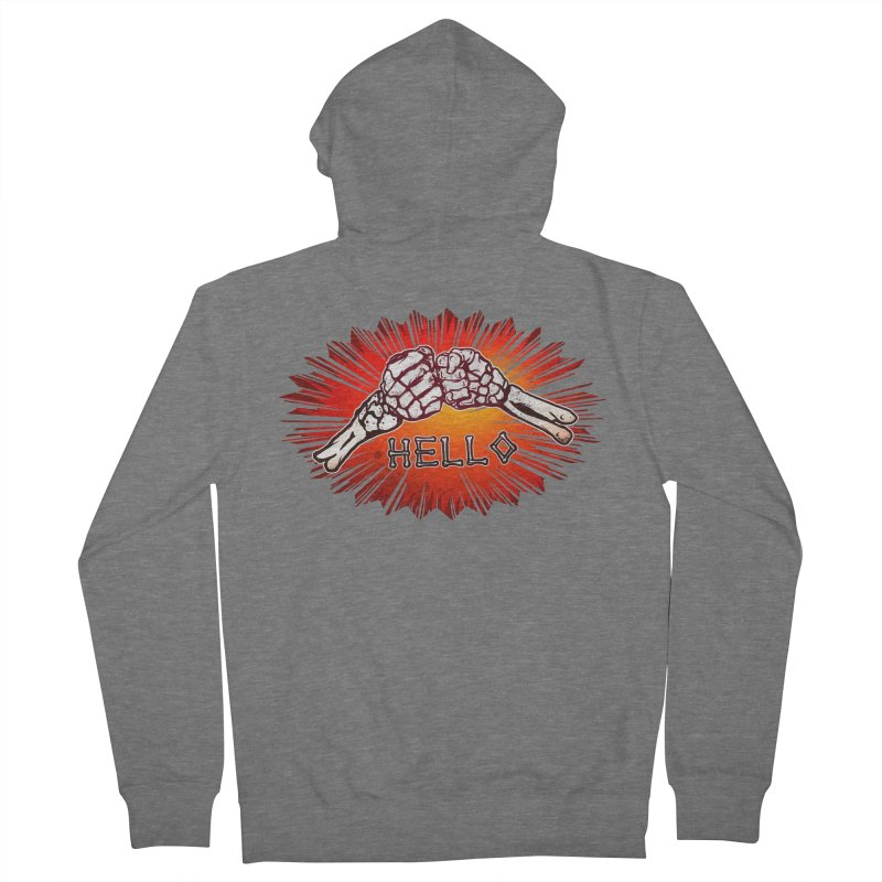 Hell O Women's Zip-Up Hoody by miskel's Shop