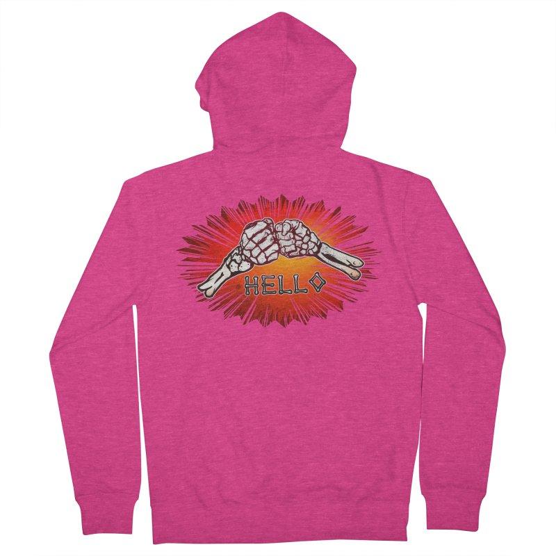 Hell O Women's Zip-Up Hoody by miskel's Shop