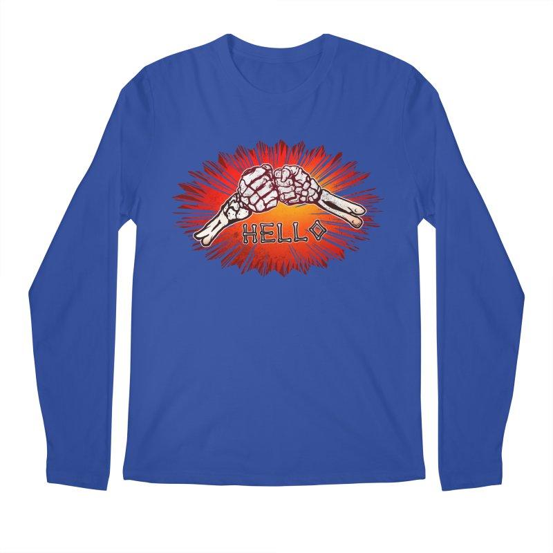 Hell O Men's Longsleeve T-Shirt by miskel's Shop