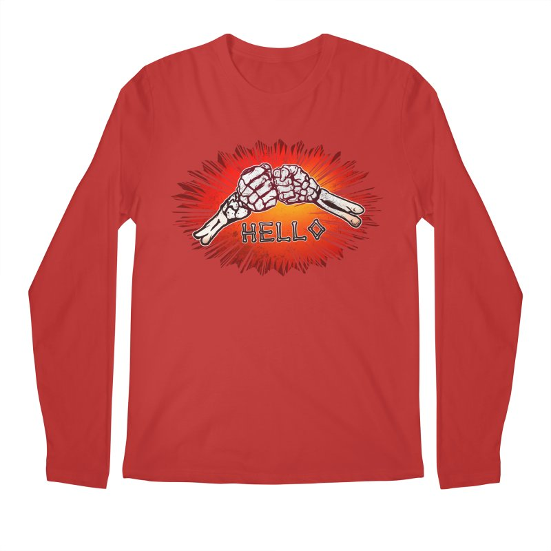 Hell O Men's Longsleeve T-Shirt by miskel's Shop