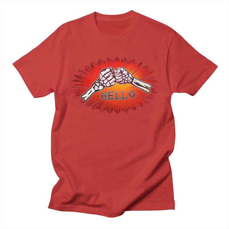 Hell O Men's Regular T-Shirt by miskel's Shop