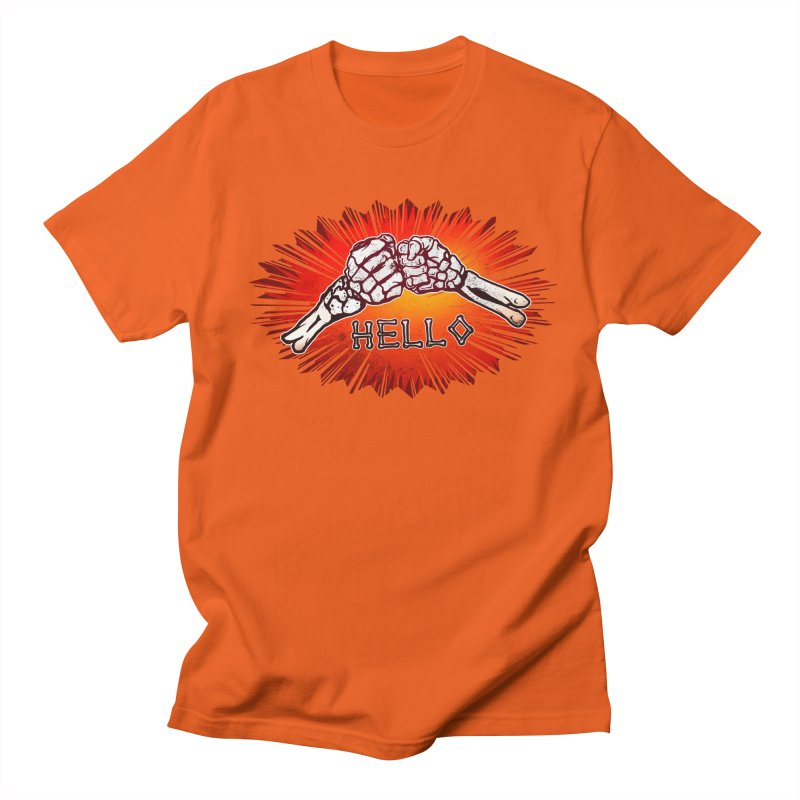 Hell O Men's T-Shirt by miskel's Shop