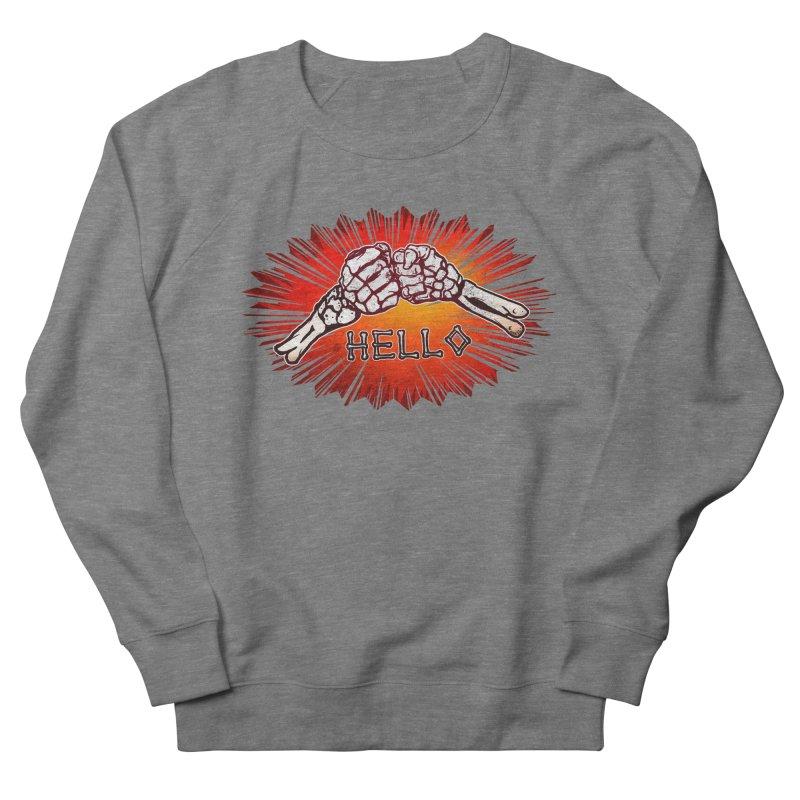 Hell O Men's Sweatshirt by miskel's Shop