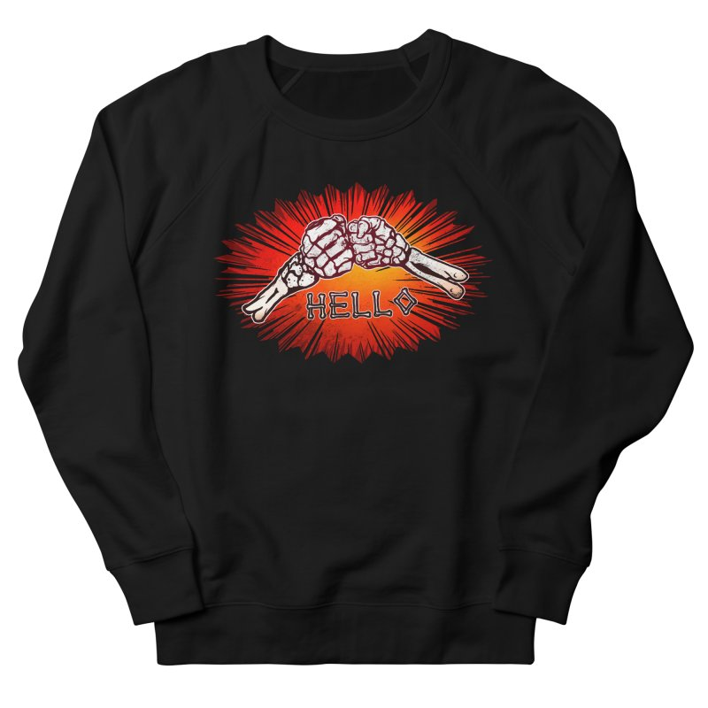 Hell O Men's Sweatshirt by miskel's Shop