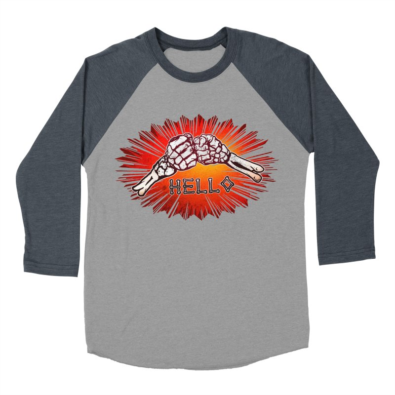 Hell O Women's Baseball Triblend T-Shirt by miskel's Shop