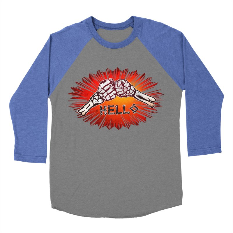 Hell O Men's Baseball Triblend T-Shirt by miskel's Shop