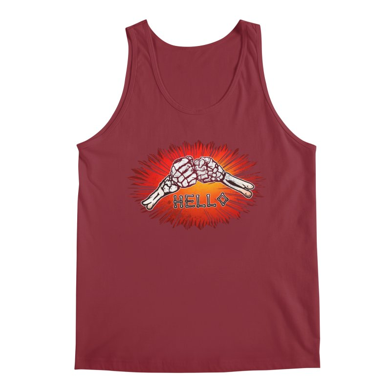 Hell O Men's Tank by miskel's Shop