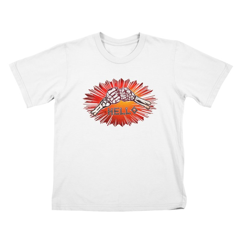 Hell O Kids T-shirt by miskel's Shop