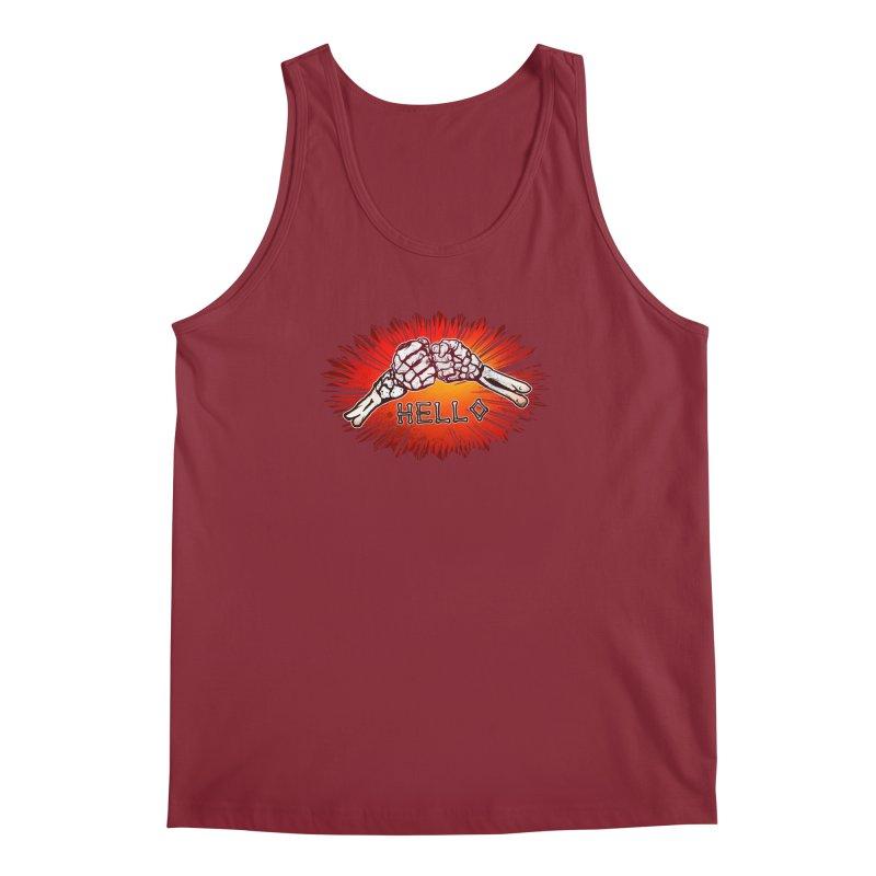 Hell O Men's Regular Tank by miskel's Shop