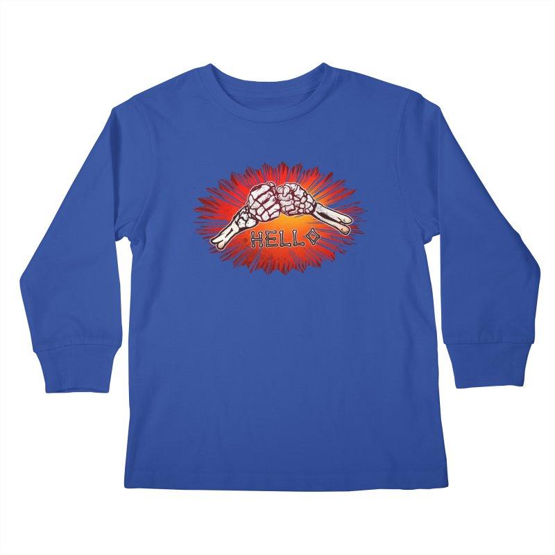 Hell O Kids Longsleeve T-Shirt by miskel's Shop