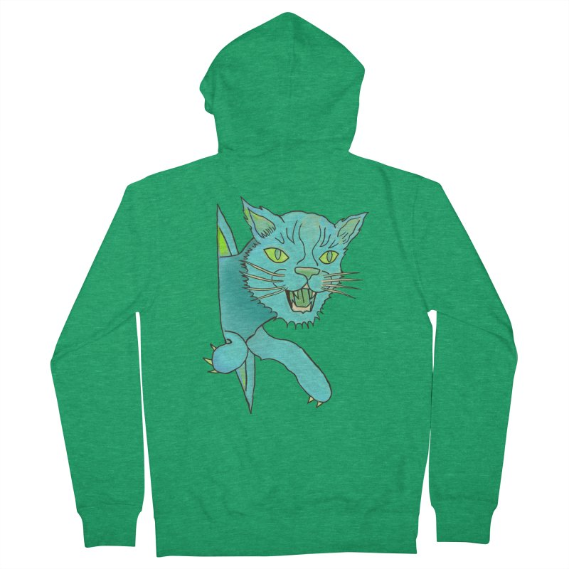 MeoW Men's Zip-Up Hoody by miskel's Shop