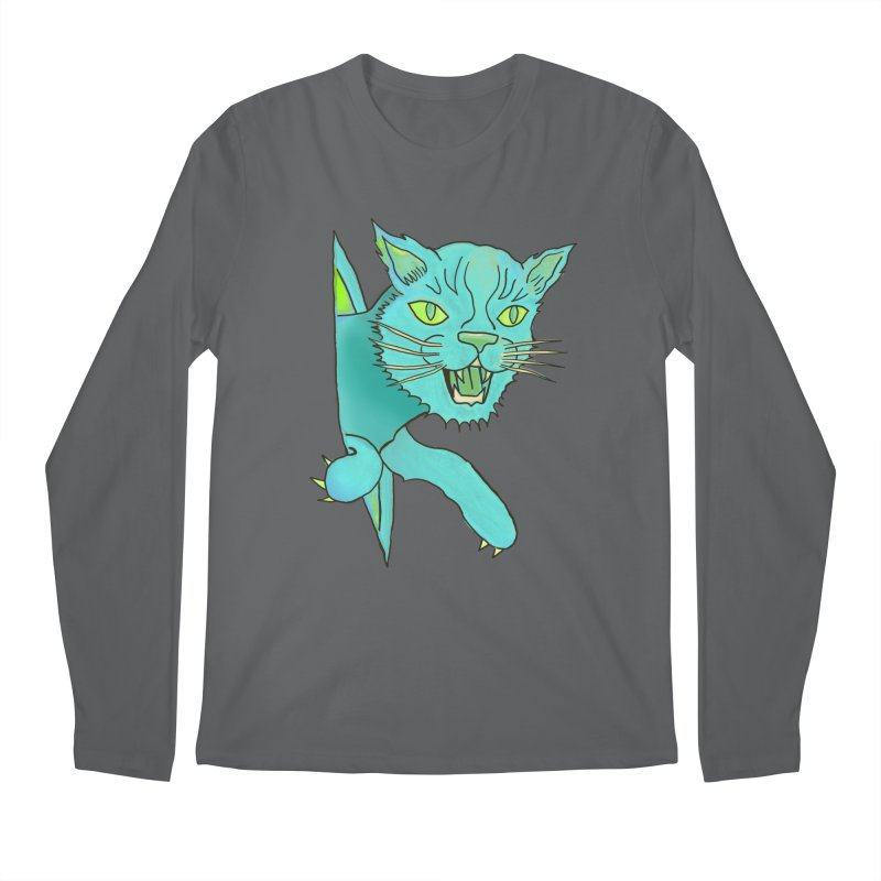 MeoW Men's Longsleeve T-Shirt by miskel's Shop