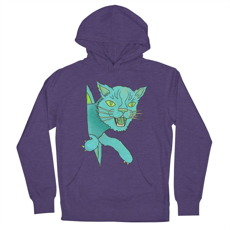 MeoW Women's French Terry Pullover Hoody by miskel's Shop