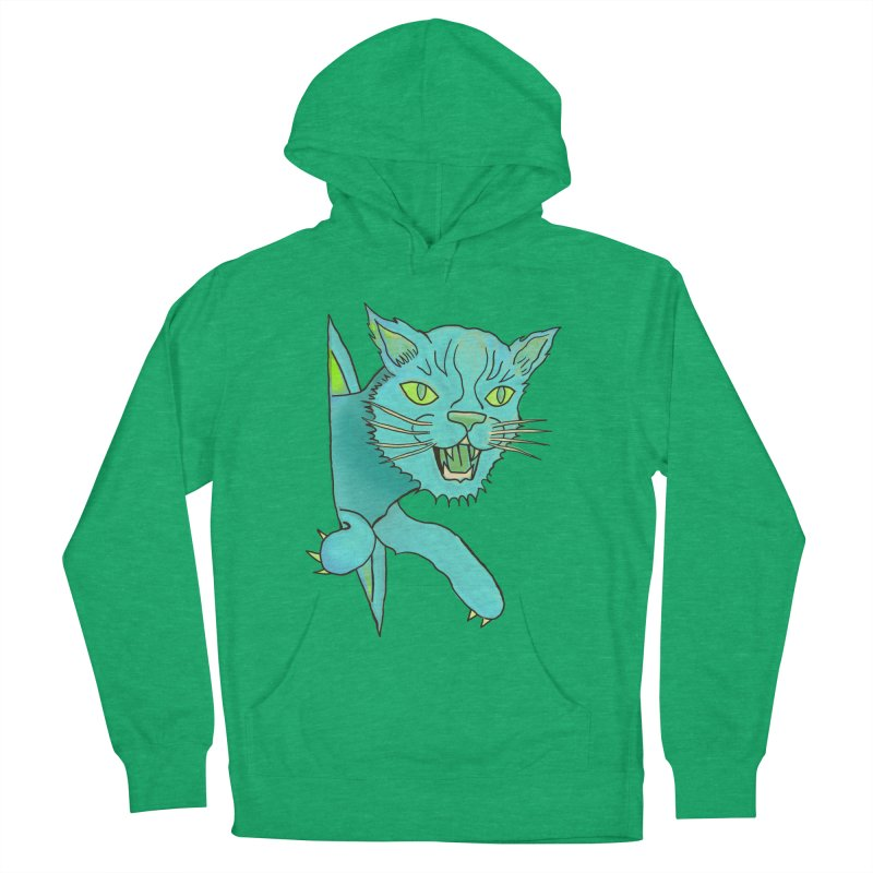 MeoW Men's French Terry Pullover Hoody by miskel's Shop