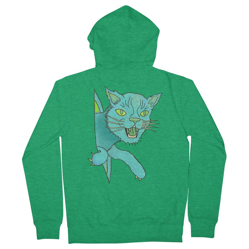 MeoW Women's Zip-Up Hoody by miskel's Shop