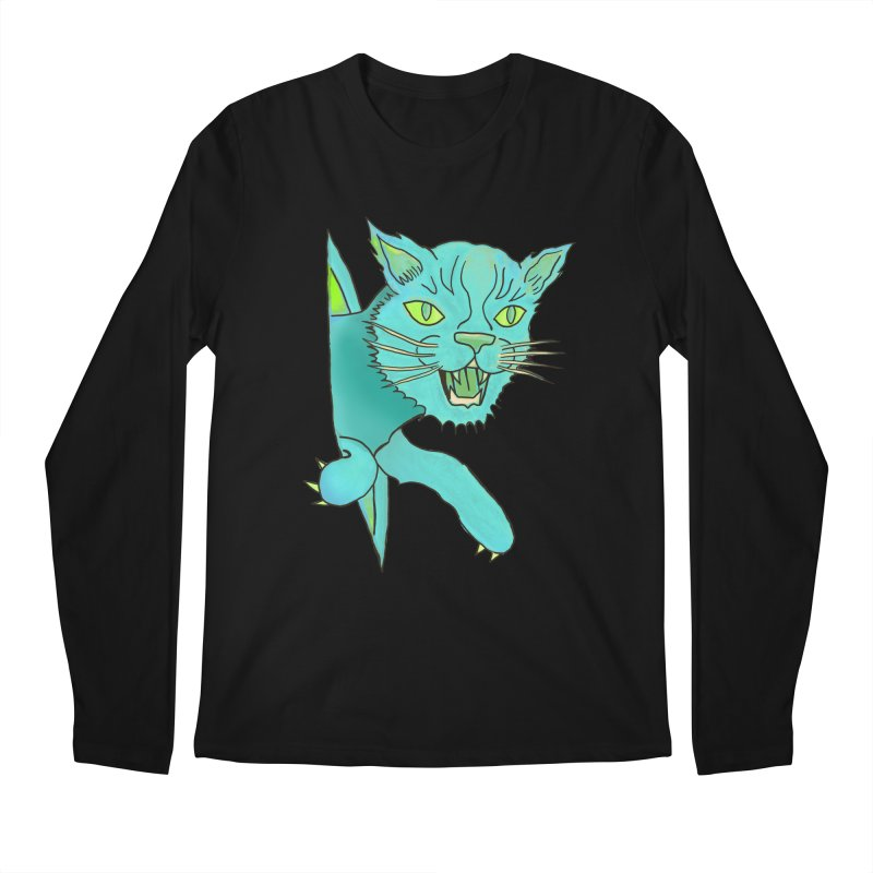MeoW Men's Regular Longsleeve T-Shirt by miskel's Shop