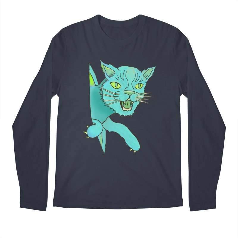 MeoW Men's Longsleeve T-Shirt by miskel's Shop