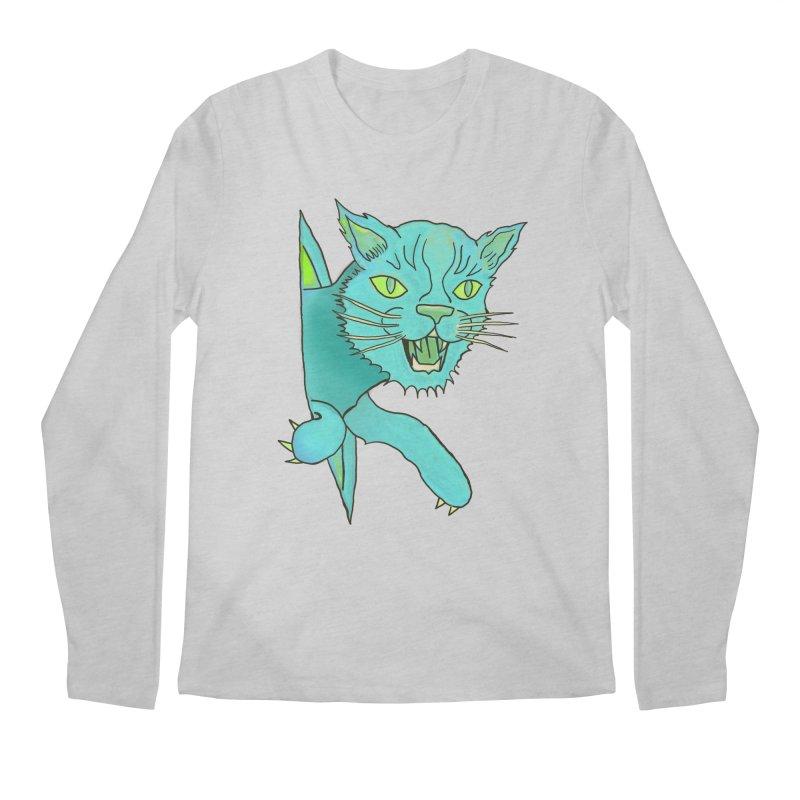MeoW Men's Regular Longsleeve T-Shirt by miskel's Shop