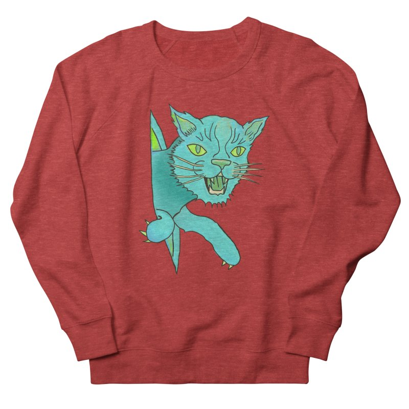 MeoW Women's French Terry Sweatshirt by miskel's Shop