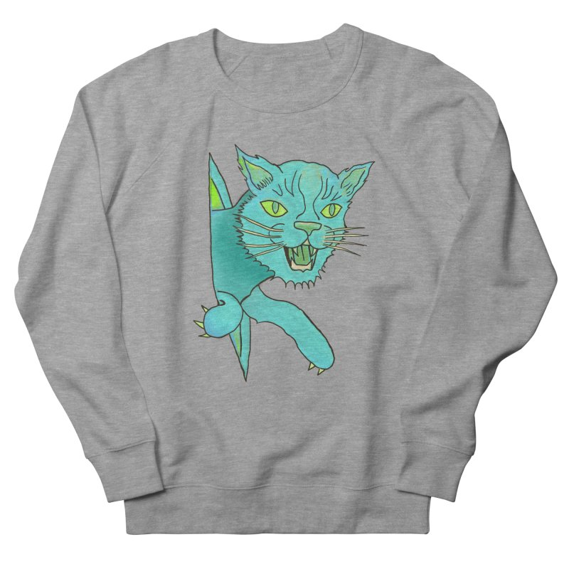 MeoW Men's French Terry Sweatshirt by miskel's Shop
