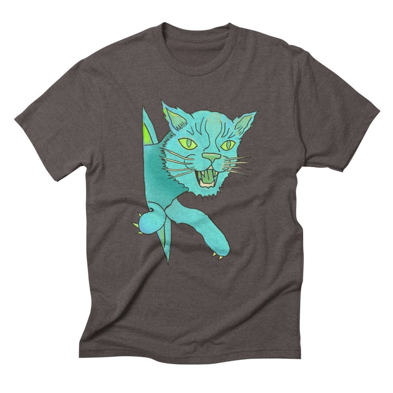 MeoW Men's Triblend T-Shirt by miskel's Shop