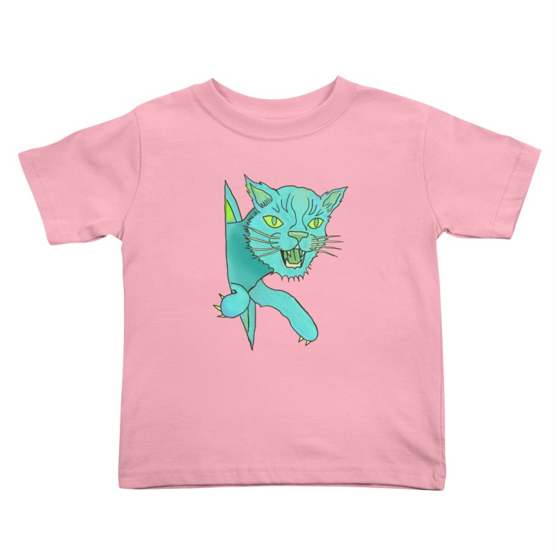 MeoW Kids Toddler T-Shirt by miskel's Shop