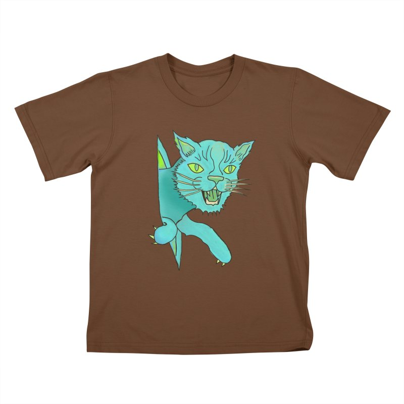 MeoW Kids T-Shirt by miskel's Shop