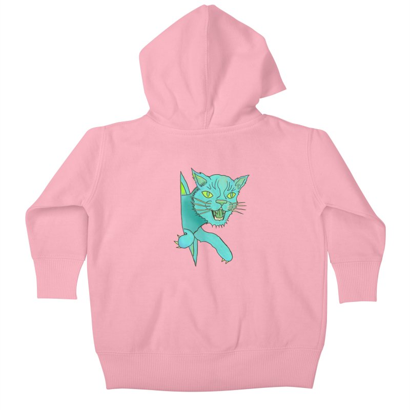 MeoW Kids Baby Zip-Up Hoody by miskel's Shop