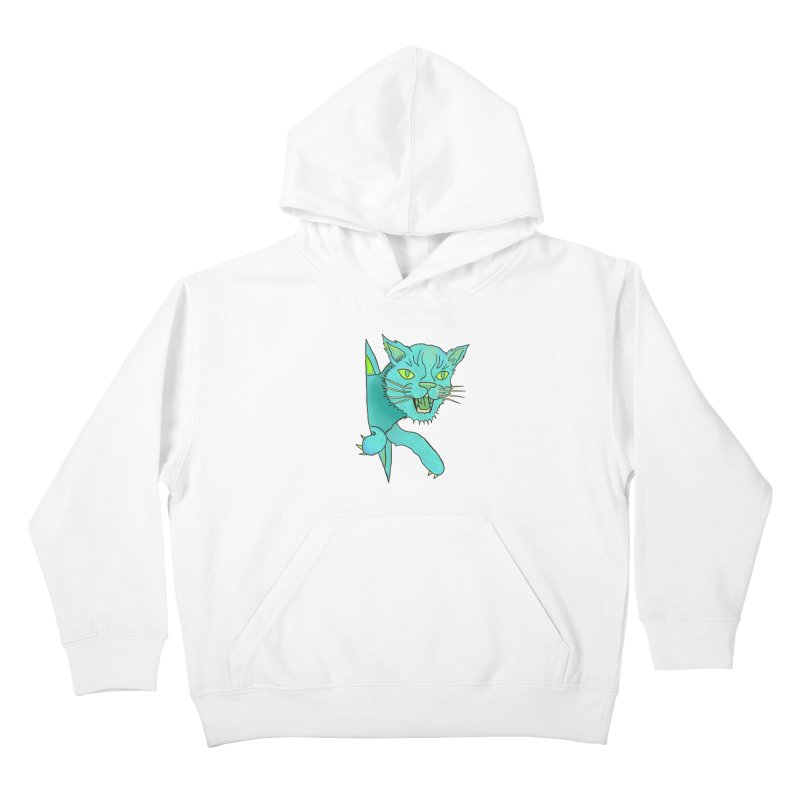 MeoW Kids Pullover Hoody by miskel's Shop