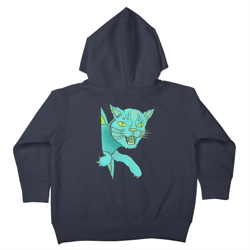 MeoW Kids Toddler Zip-Up Hoody by miskel's Shop