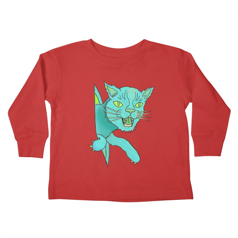 MeoW Kids Toddler Longsleeve T-Shirt by miskel's Shop