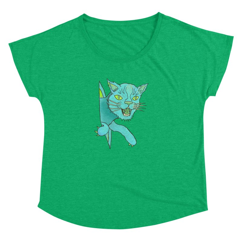 MeoW Women's Scoop Neck by miskel's Shop