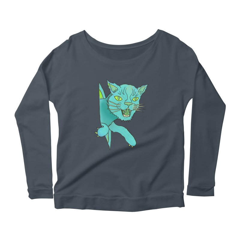 MeoW Women's Longsleeve T-Shirt by miskel's Shop