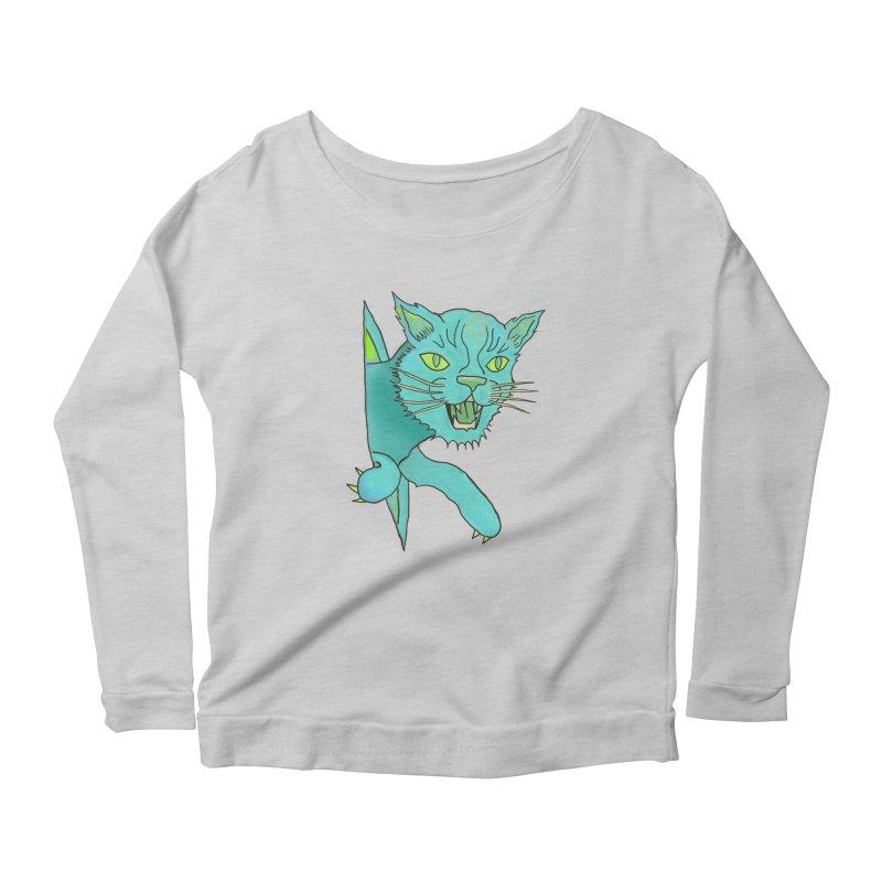 MeoW Women's Longsleeve T-Shirt by miskel's Shop